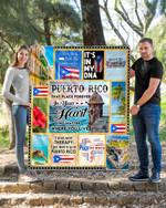 Ligerking™ Puerto Rico Quilt Blanket 02157