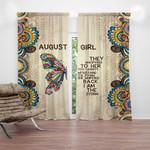 Ligerking™ August Girl Window Curtains  HD04311