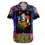 Ligerking™ Magic Mushroom Short Sleeve Shirt HD02213
