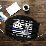 Ligerking™ Police Paws Cloth Face Coverings HD04070