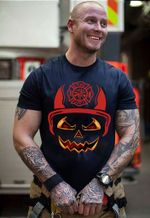 Ligerking™ FireFighter Halloween T-shirt HD03834