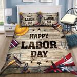 Ligerking™ Happy Labor Day Equipment Bedding Set HD04410