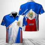 Ligerking™ Puerto Rico Shirt Short Sleeve 03390