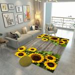 Ligerking™ Sunflower Rug HD03691