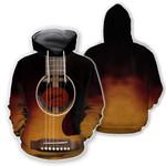 Ligerking™ Black Guitar Hoodie HD04001