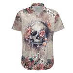 Ligerking™ Skull Flower Short Sleeve Shirt HD04230
