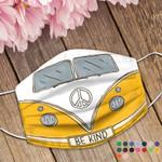 Ligerking™ Hippie Be Kind Cotton Mask 04570