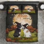 Ligerking™ Halloween Couple Bulldog Bedding Set 04310