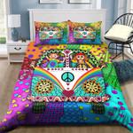 Ligerking™ Peace Hippie Bedding Set 04083