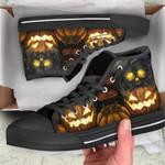 Ligerking™ Halloween Pumpkin High Top Shoes HD04548