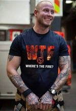 Ligerking™ FireFighter T-shirt HD03835