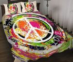 Ligerking™ Tie Dye Hippie Bedding Set 04206