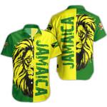 Ligerking™ Jamaica Lion Shirt Short Sleeve HD03386