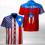 Ligerking™ Puerto Rico Shirt Short Sleeve 03283