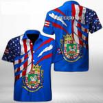 Ligerking™ Puerto Rico Shirt Short Sleeve 03287