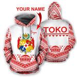 Ligerking™ personalize name Tonga hoodie HD02344
