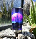 Ligerking™ 420 Weed Leaf Tumbler HD01525