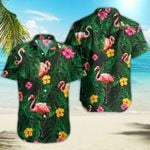Ligerking™ Flamingo Polo Shirt All Over Print HD03081