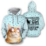 Ligerking™ Cat Girl  Hoodie  3D all over print HD02874