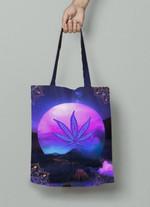Ligerking™ 420 Weed Leaf Tote Bag HD01525