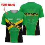 Ligerking™ Jamaica Flag Independence Day T-Shirt HD03046