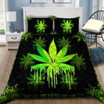 Ligerking™ 420 Weed Quilt bedding set HD02455