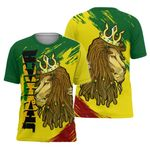 Jamaica Victory Lion All Over Print T-Shirt HD01620