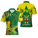 Ligerking™ Jamaica Lion Polo T-shirt HD03602