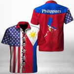 Ligerking™ Philippines Shirt Short Sleeve HD03393