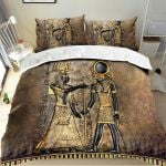 Ancient Egypt Pharaoh and Horus Bedding Set HD03177