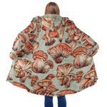 Mushroom Hooded Coat 3911