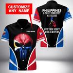 Ligerking™ Philippines Shirt Short Sleeve HD03392