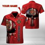 Ligerking™ FireFighter Polo T-Shirt Short Sleeve HD03585