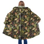 Forest Mushroom Hooded Coat 3913