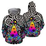 420 hoodie  trippy mushroom 3D all over print HD00370