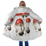 Poisonous Mushroom Hooded Coat 3904