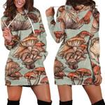 Forest Mushroom Hoodie Dress 3911