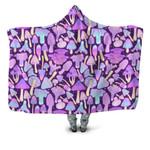 Forest Mushroom Hooded Blanket 3910
