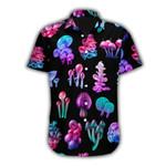 Ligerking™ Mushroom  Short Sleeve Shirt HD03566