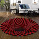 Ligerking™ Rug Geometric 3D Red HD03462