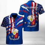 Ligerking™ Philippines Shirt Short Sleeve HD03399