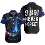 Ligerking™ 9/11 Never Forget Shirt Short Sleeve HD03367