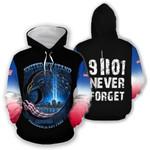 Ligerking™ Twin Towers Tribute Usa Hoodie HD03293