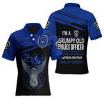 Ligerking™ Police Polo T-shirt HD03684