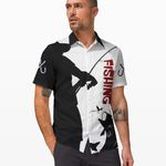 Ligerking™ Fishing Grandpa Short Sleeve Shirt 03534