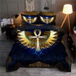 Golden Ankh Egypt Bedding Set HD03176