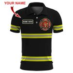 Ligerking™ FireFighter Polo T-Shirt Short Sleeve HD03584