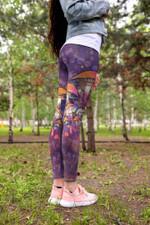 Purple Mushroom Leggings 3915