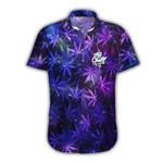 Ligerking™ 420 Galaxy Weed Short Sleeve Shirt  HD03443