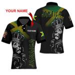 Ligerking™ Jamaica Lion Polo T-shirt HD03604